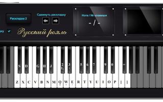 Научиться играть на пианино онлайн