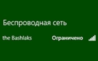 Беспроводная сеть без доступа к интернету
