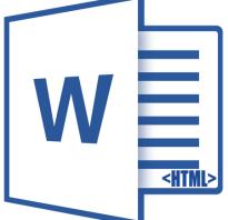 Как преобразовать word в html