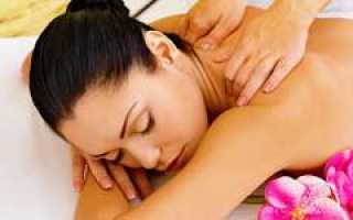 Как делать расслабляющий массаж видео