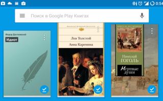 Google play книги формат