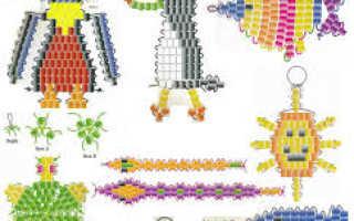 Плетение из бисера мастер класс видео