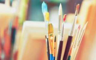 Первые уроки художника
