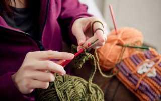 Первый урок вязания крючком для начинающих