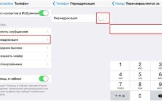 Как отключить переадресацию на айфон 8