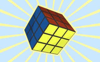 Как собирать кубик рубик видео