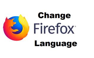 How to change language of firefox