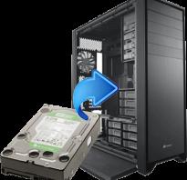 Установка жесткого диска в системный блок