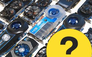 Как узнать какую видеокарту использует компьютер