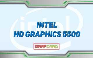 Intel hd graphics 5500 объем видеопамяти
