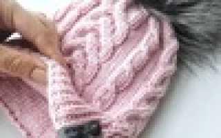 Вязание шапок мастер класс бесплатно