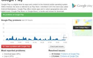 Ошибка сервисов google play 4pda