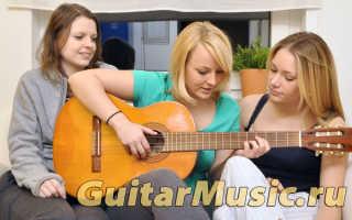 Уроки игры на гитаре с нуля бесплатно