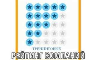 Лучшие тренинги в россии