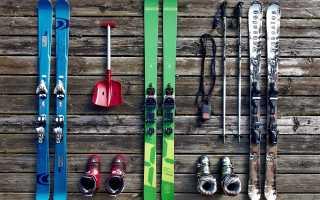 Лыжи беговые видео