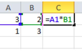 Абсолютный адрес в электронных таблицах это