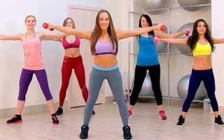 Жиросжигающие упражнения дома видео