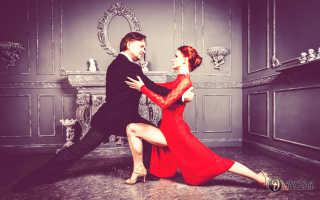 Уроки аргентинского танго видео на русском