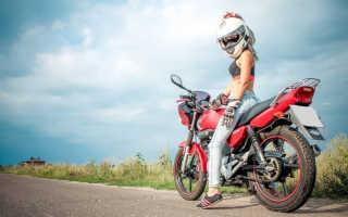 Уроки езды на мотоцикле для начинающих