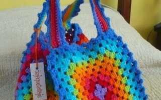 Вязание сумок крючком мастер класс