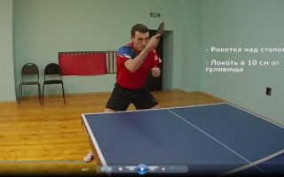 Мастер класс настольный теннис видео