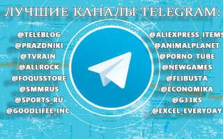 Интересные сообщества в телеграмме