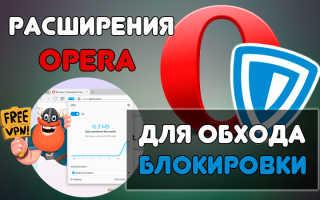 Опера заблокировала расширение как разблокировать