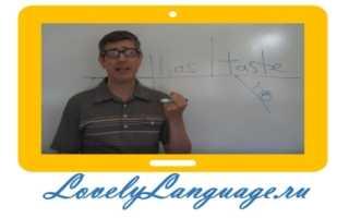 Видео грамматика английского языка