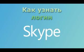 Электронный адрес скайпа