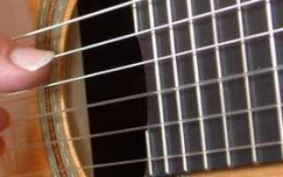Видеоуроки по гитаре