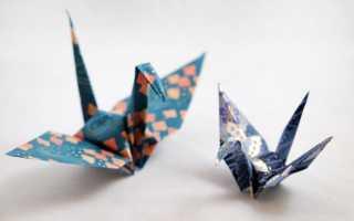 Оригами из картона видео