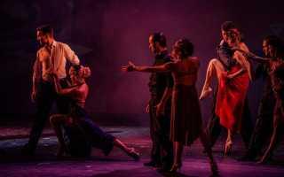 Танго танец видео уроки для начинающих