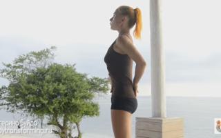 Упражнения для растяжки на шпагат видео