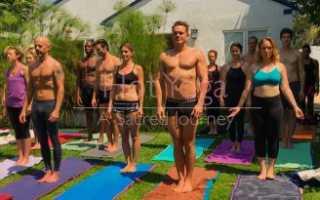Горячая йога видео