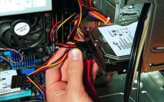 Установка dvd привода на компьютер