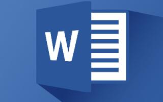 Microsoft word информация о программе